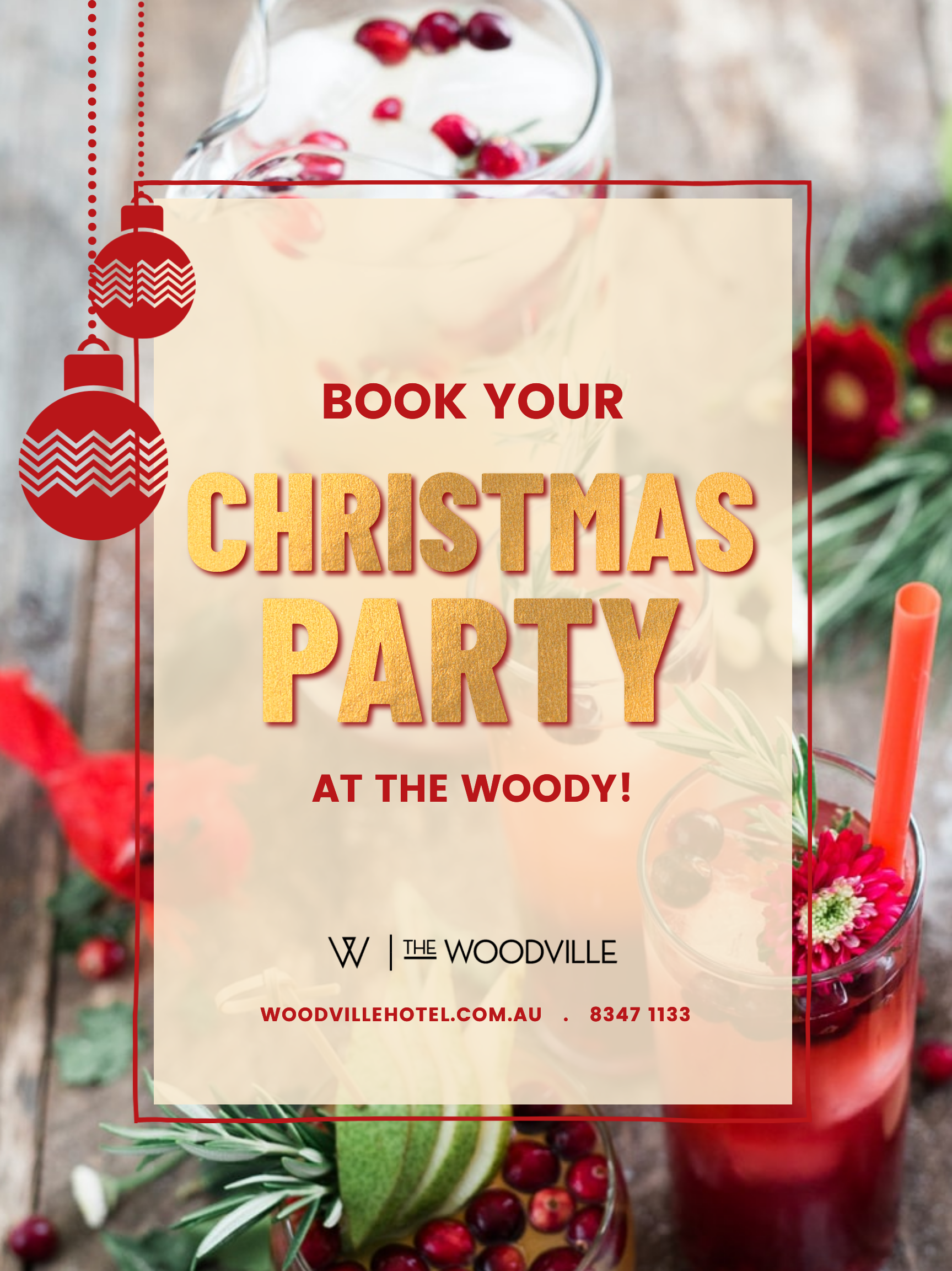 Woodville Hotel CHRISTMAS Party 2021